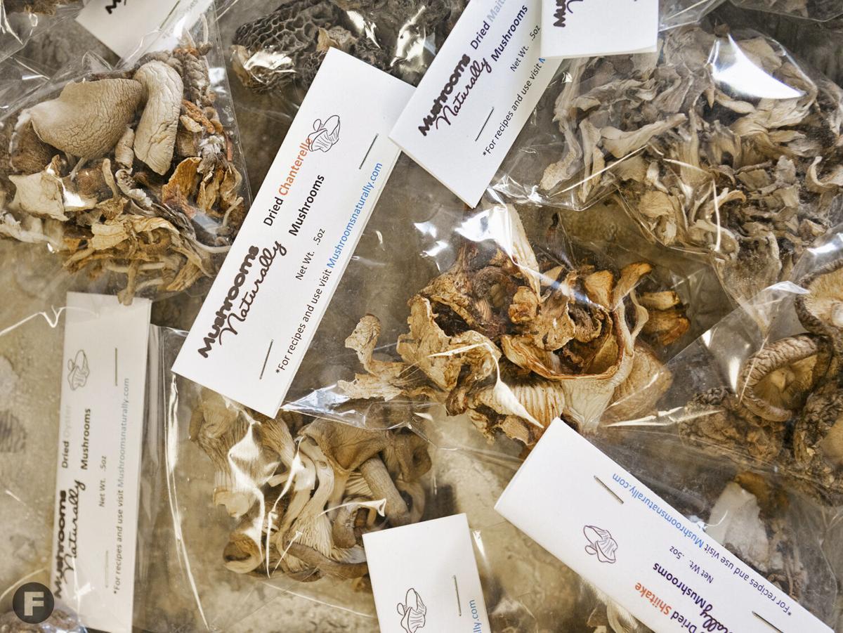 Mushrooms Naturally dried mushrooms
