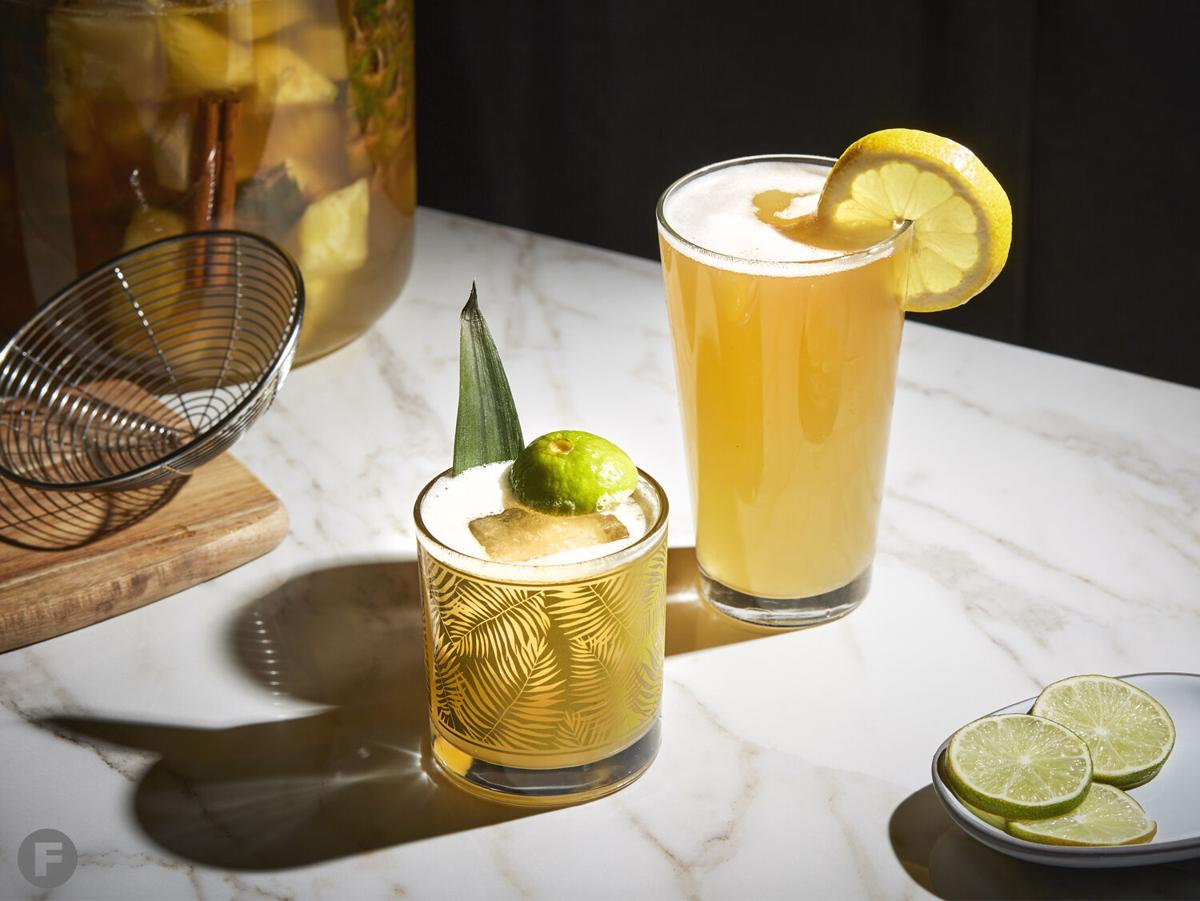 Tepache cocktails