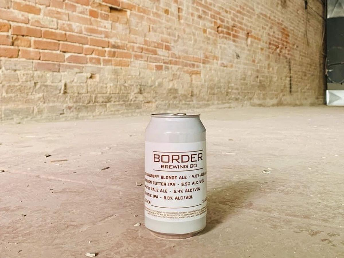 Border Brewing Co. Can