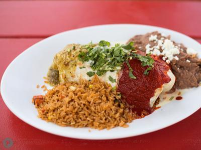 Taco Circus Mexican Flag Burrito