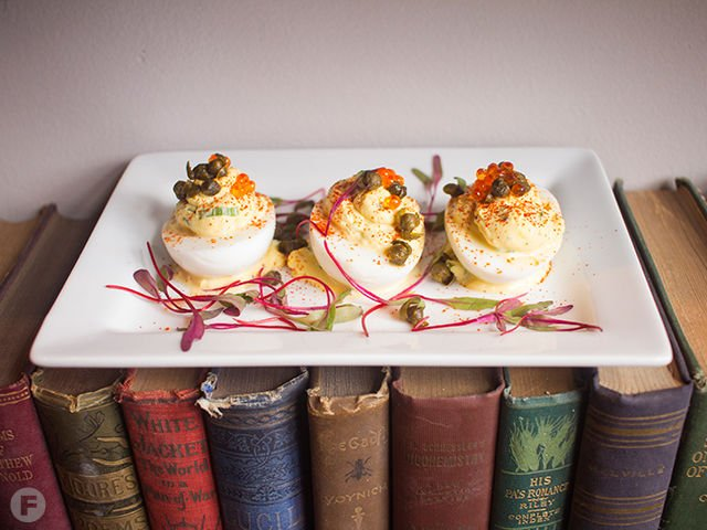 Polite Society Deviled Eggs