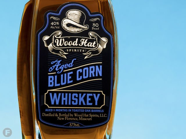 Wood Hat Spirits Blue Corn Whiskey