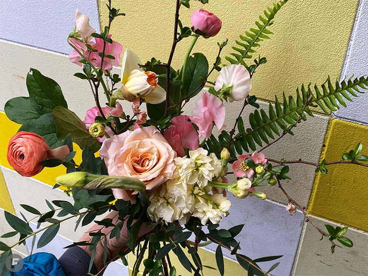 Flowers and Weeds Bouquets