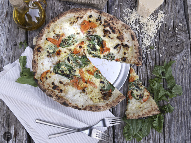 Roasted Carrot Pizza