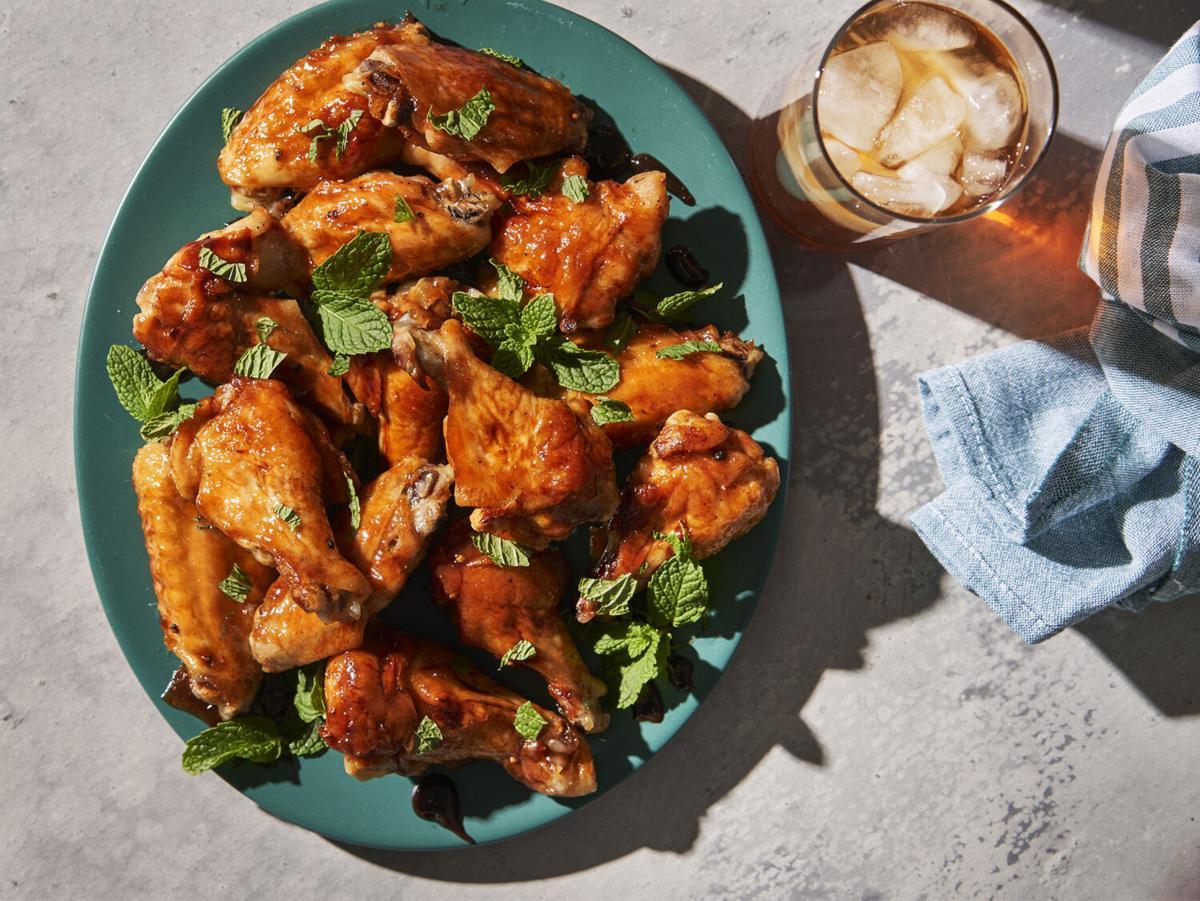 Tea-Glazed Chicken Wings