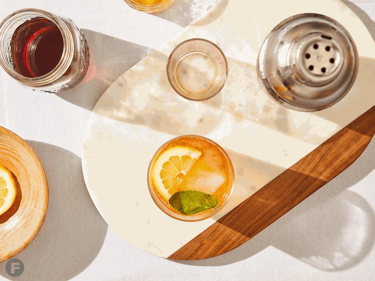 Sun Tea Vodka Mint Julep