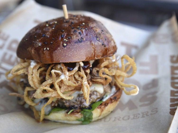 BRGR Kitchen + Bar Burger