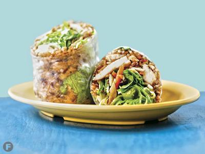 Lona's Lil Eat's Big Thai Wrap recipe