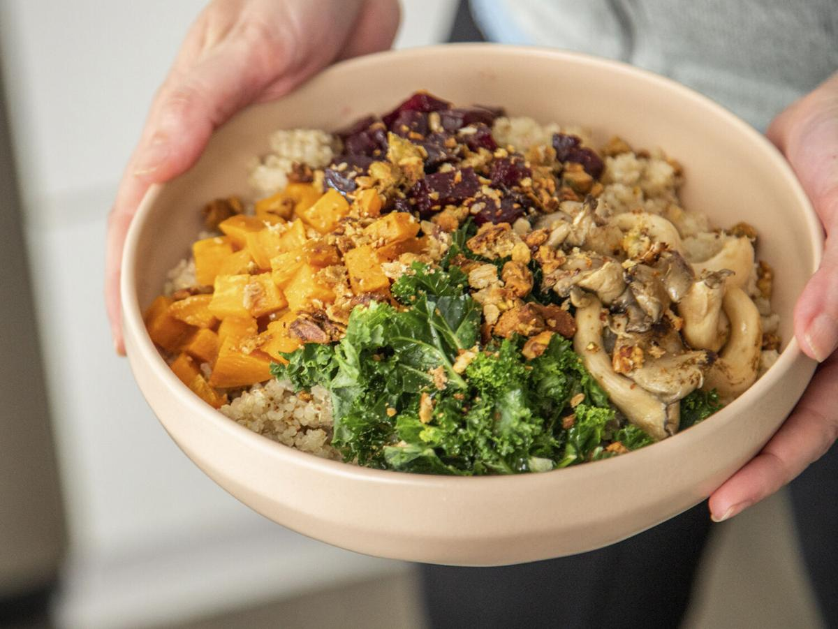 Cultivare Greens & Grains Miso-Mushroom Bowl