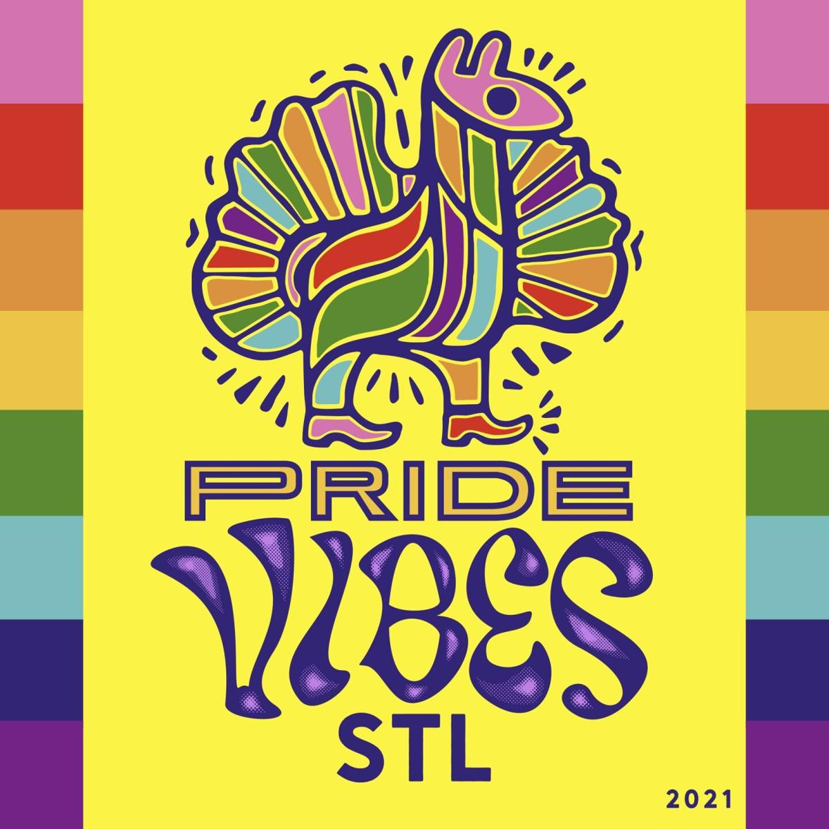 Pride Vibes STL logo