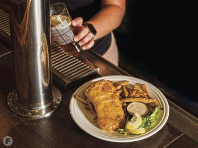 Beer-Battered Fish with Remoulade Sauce