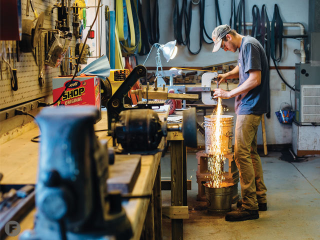 In Sedalia, Missouri, Halcyon Forge Crafts Small-Batch Chef