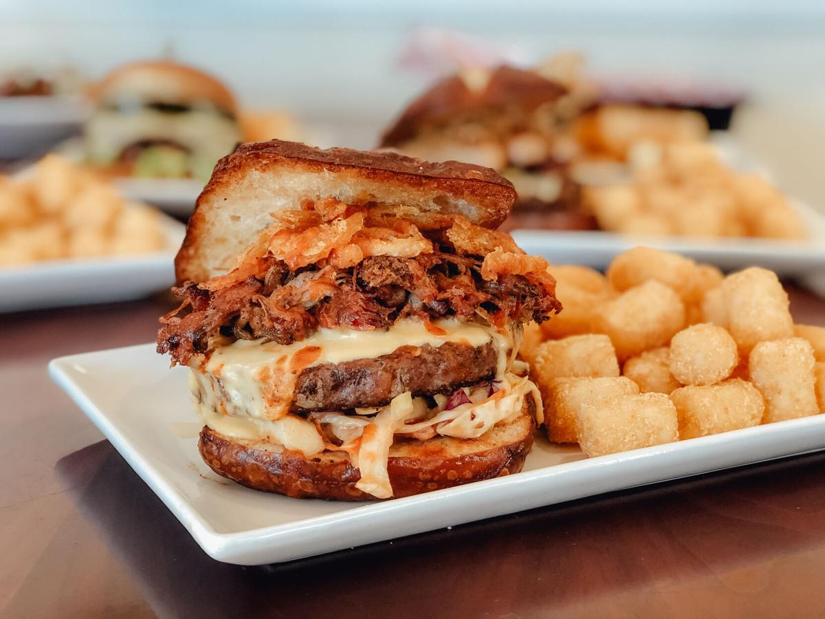 Epic Burgers Pit Boss Burger