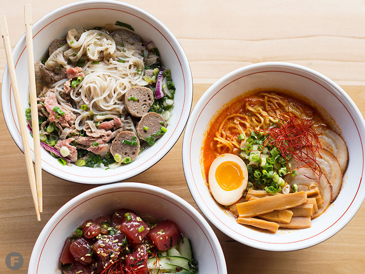Nudo House Dishes