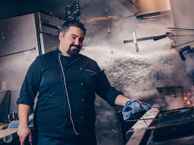 Chef of the Year: Damien Tiregol, Crabby's Seafood Bar & Grill