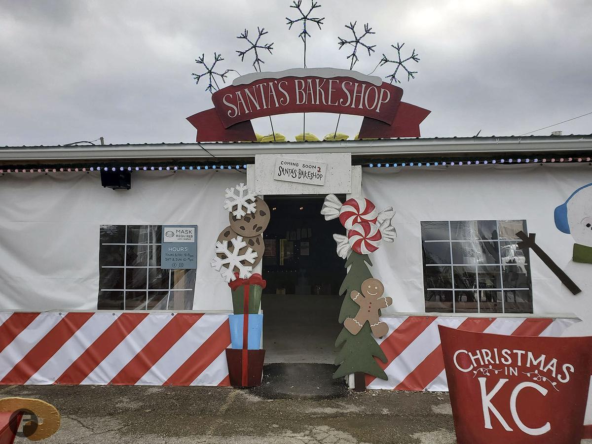 Santa's Bakeshop Exterior