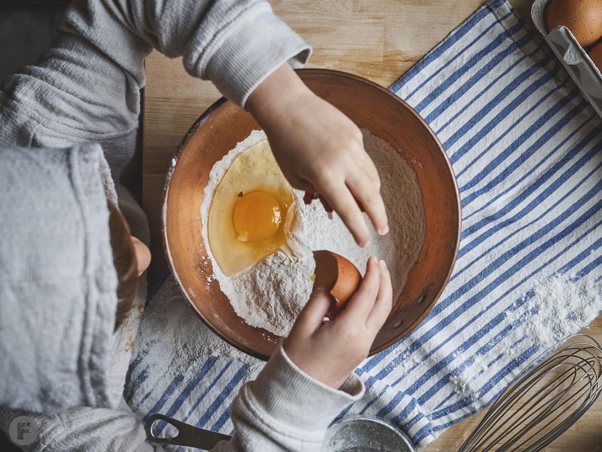 Cooking with Kids: Pancake Animals 5