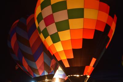 Weekend events balloon glow