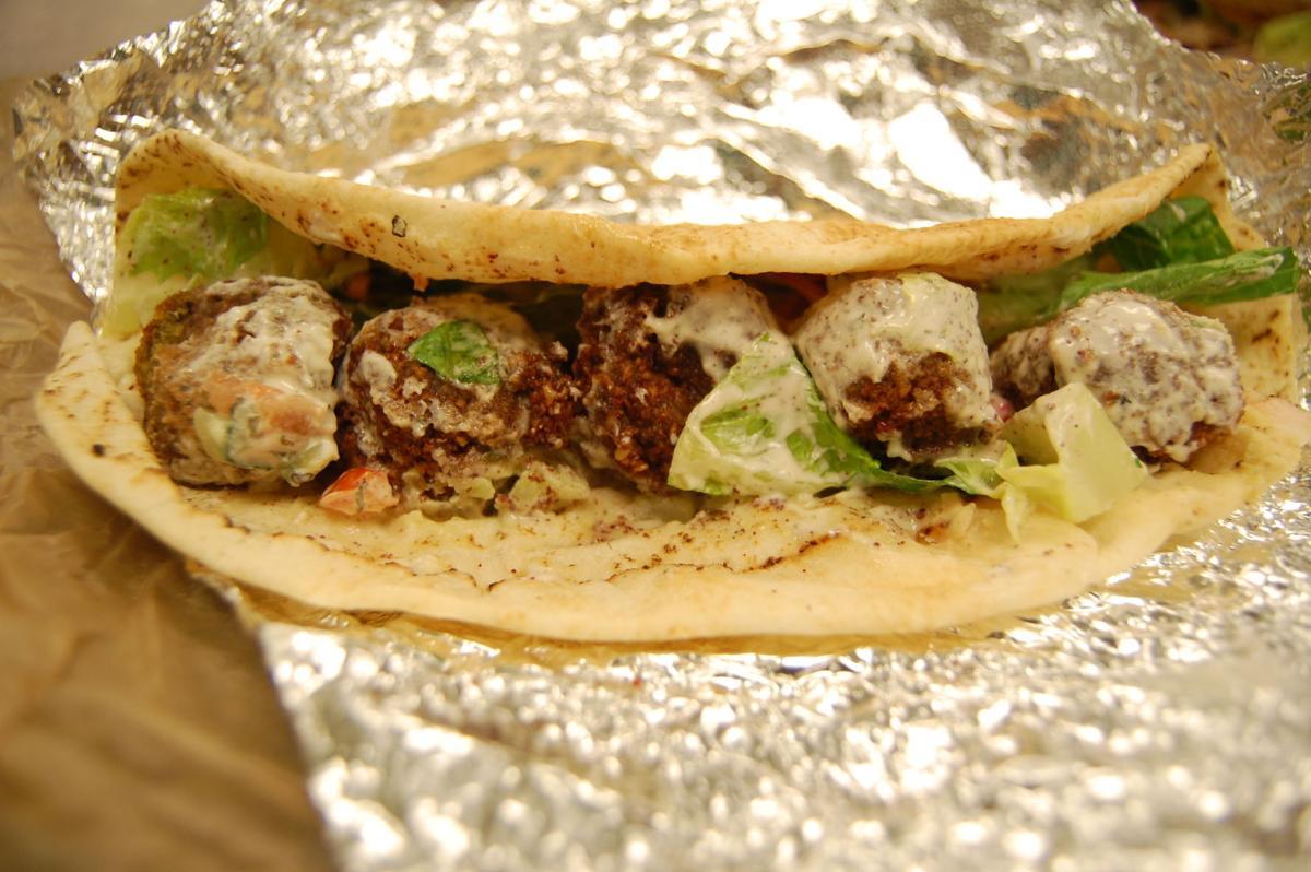 Medina Mediterranean Grill Falafel