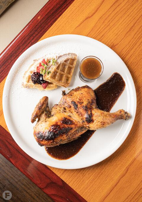 Mesob Restaurant & Rhum Bar Dish