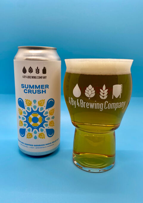 Summer Crush from 4 By 4 Brewing Co.