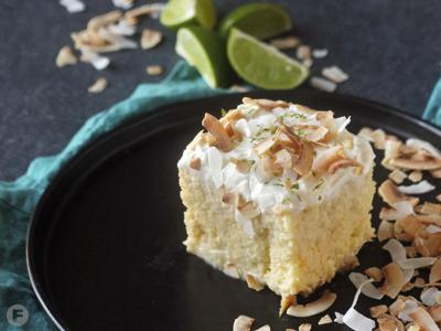 Coconut-Lime Tres Leches