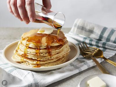Ancient Grain Sourdough Pancakes