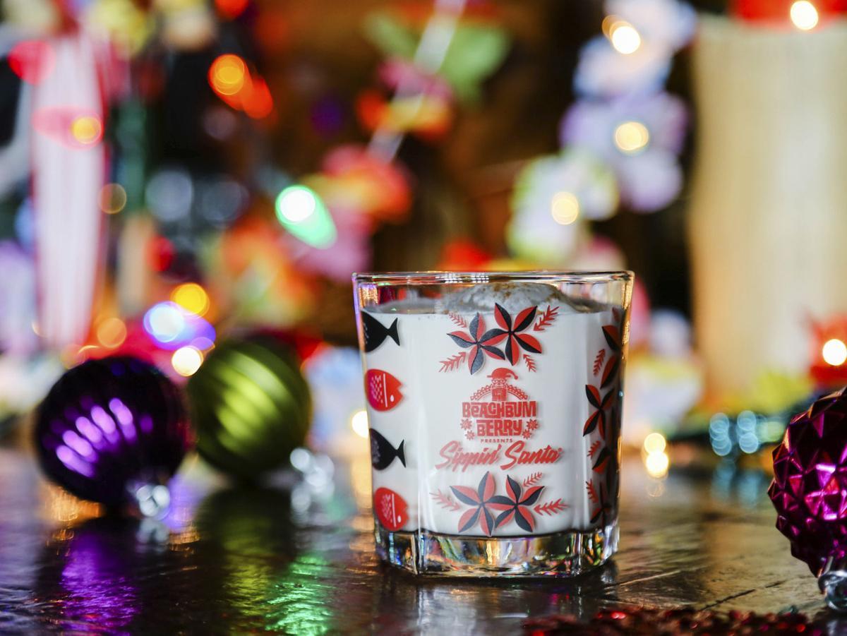 Sippin Santa Hawaiian Milk Punch