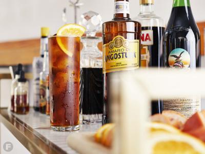 Build Your Own Amaro Spritz Bar