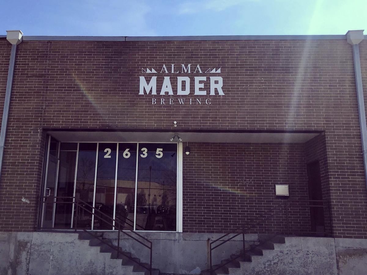 Alma Mader Brewing Exterior