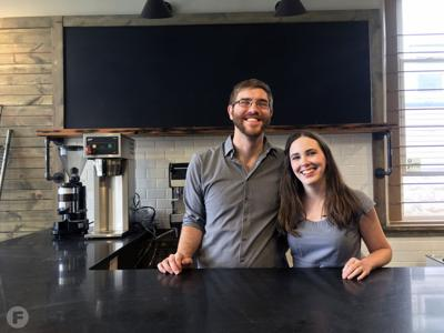 Thrive Coffee and Creamery Owners