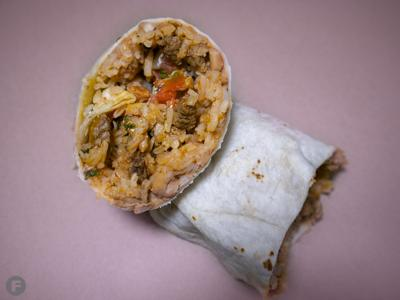 Burrito from Crazy Good Burritos