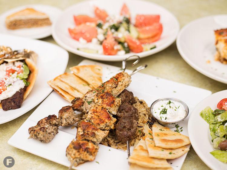 Katerina's Greek Restaurant Dishes