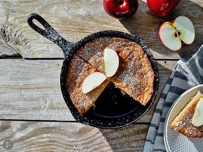 Cast-Iron Apple Skillet Cake