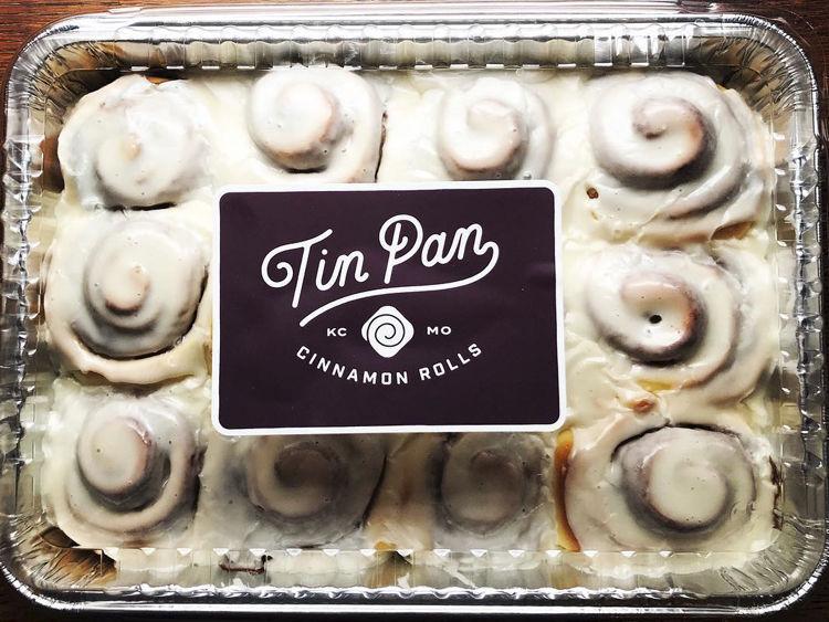 Tin Pan Cinnamon Rolls