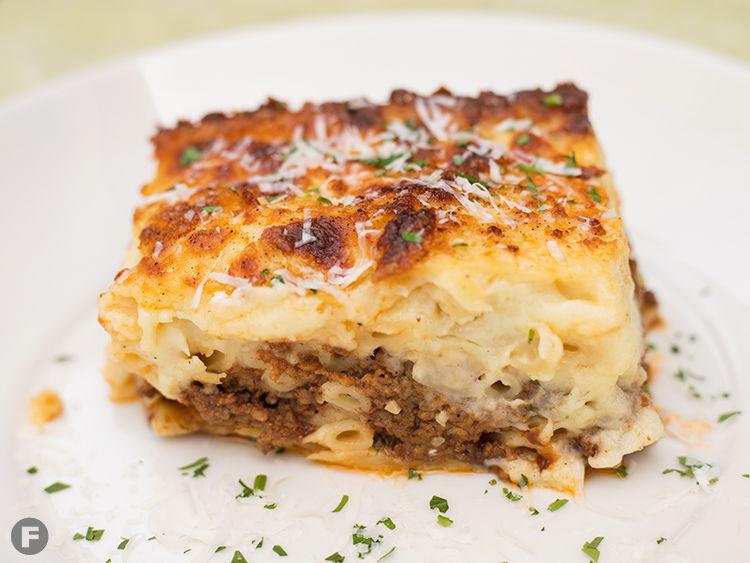 Katerina's Greek Restaurant Pastitsio