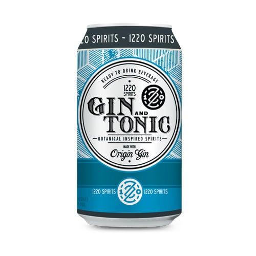1220 Artisan Spirits Gin and Tonic