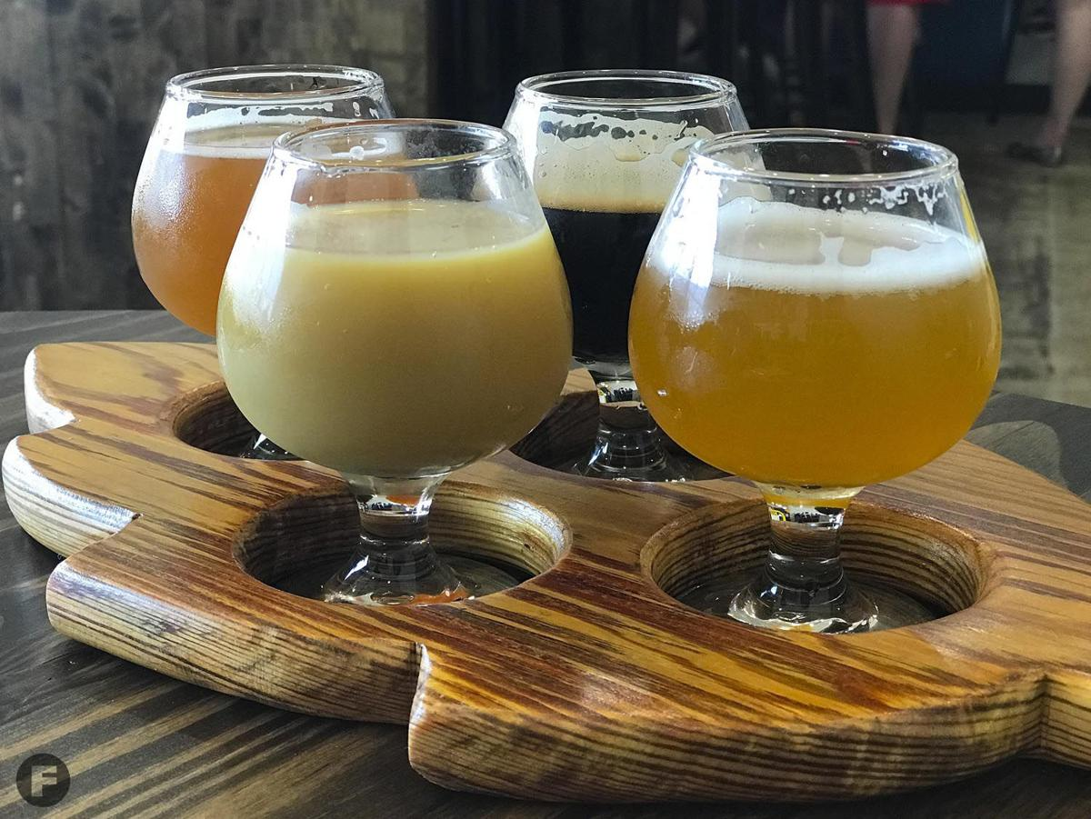 Servaes Brewing Co. Flight