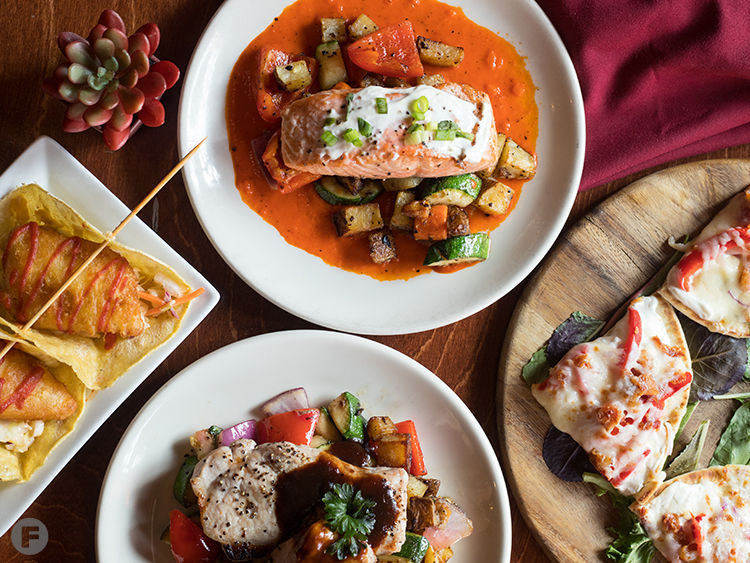 West End Grill & Pub Dishes