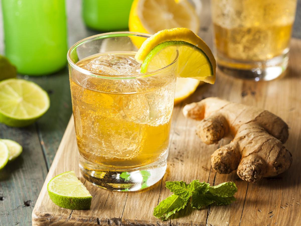 Ginger Beer Rum Punch