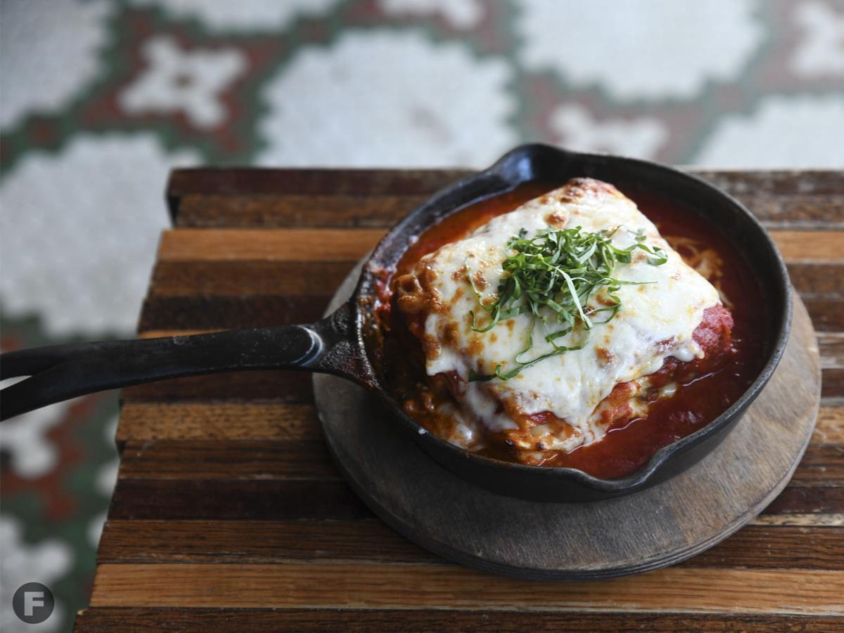 Ragazza Food & Wine Lasagna