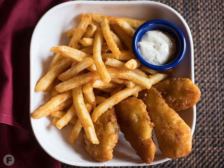 West End Grill & Pub Fish and Chips