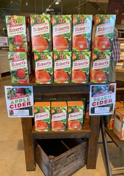Eckert's peach cider