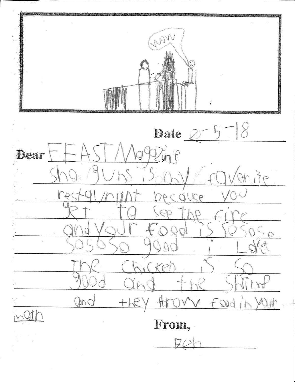 20 Second Graders Review Their Favorite St. Louis Restaurants   St ...