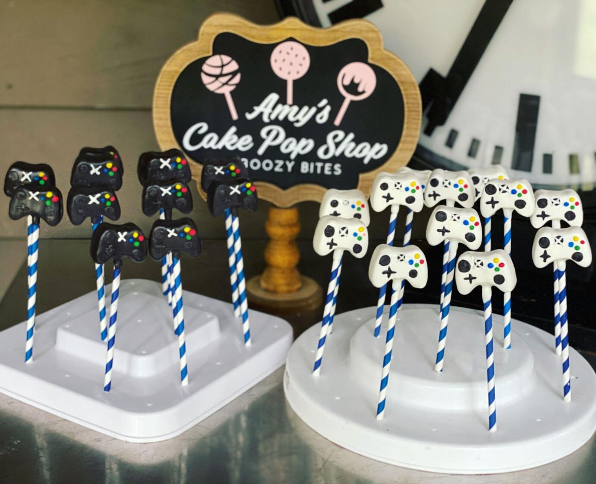 Amy's Cake Pop Shop and Boozy Bites cake pops