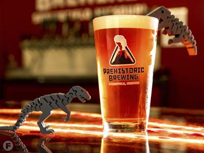 Prehistoric Brewing Co. Beer