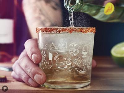 Ranch Cooler Cocktail