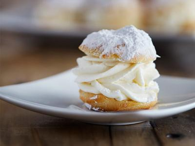 Choux Pastry and Pastry Cream