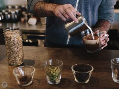 Cascara Flying Machine Coffee