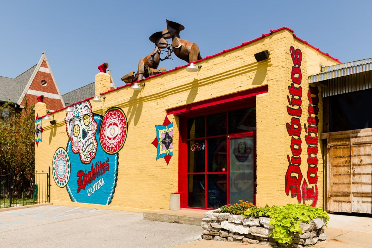 Exterior of Diablitos Cantina
